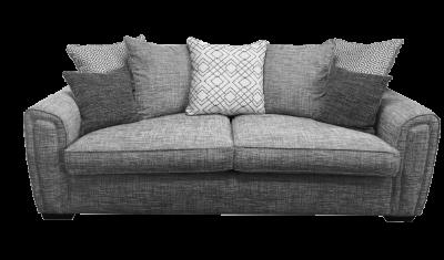 3 Seater Sofa Pillow Back