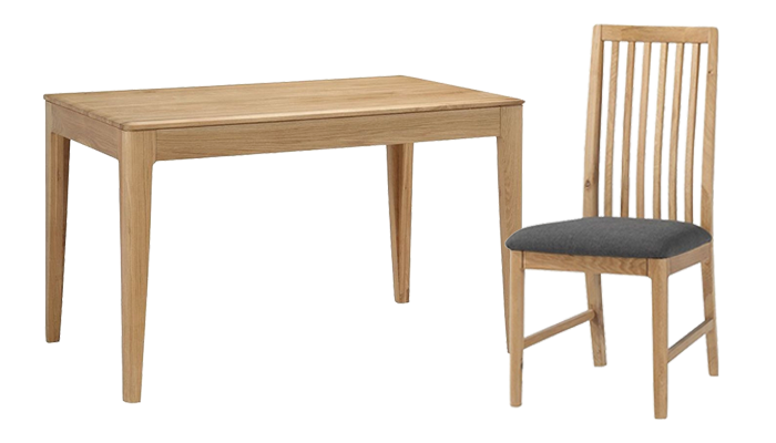 120cm Table & 4 Chairs