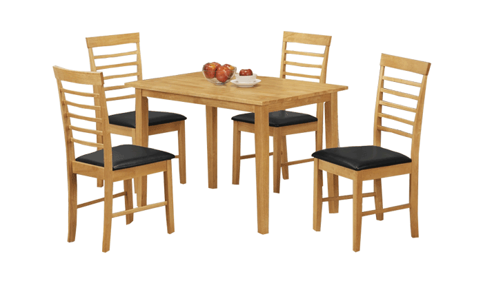 110cm Table & 4 Chairs