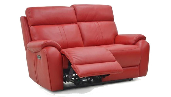 2 Seater Power Recliner & H-Rest